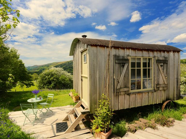 Authentic shepherds huts hand-crafted using local timber