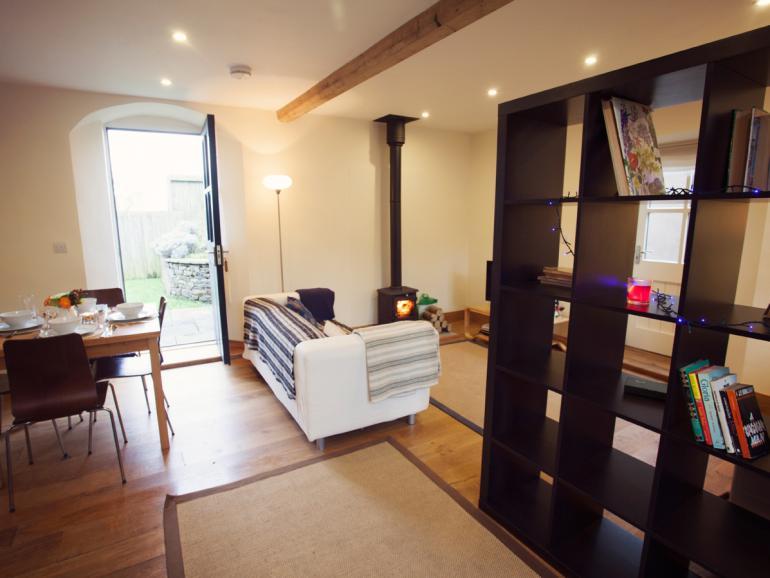 Open-plan living accomodation