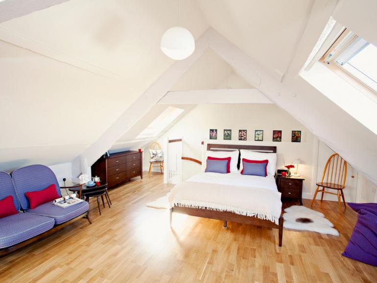 Stylish studio-style accommodation
