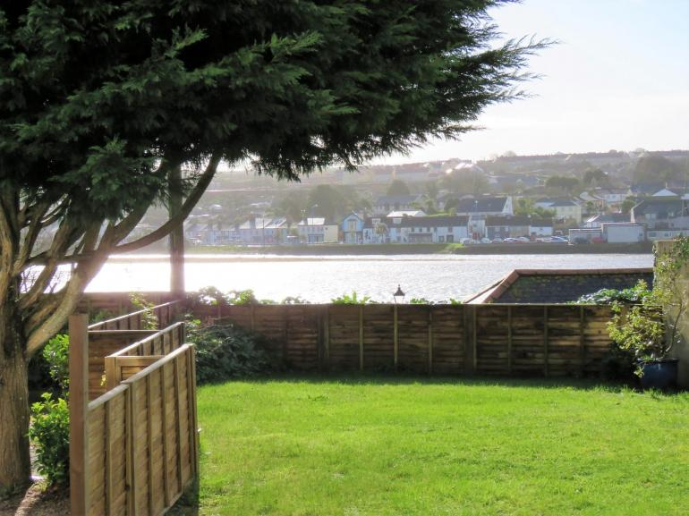 Relax in the garden with stunning views