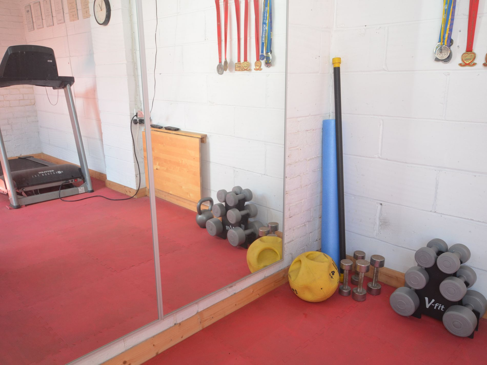 Use of the gym equipment