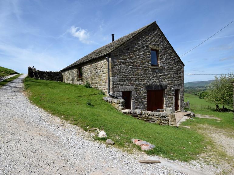 Rural stone barn