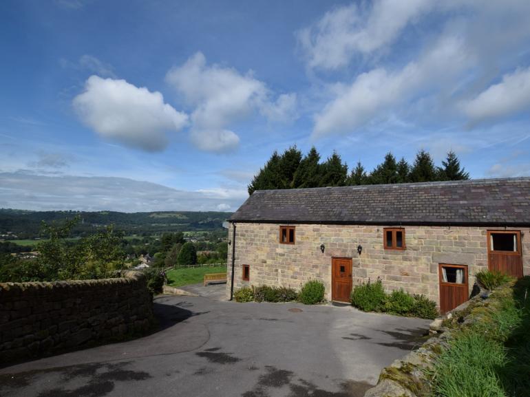 Stone barn with stunning views