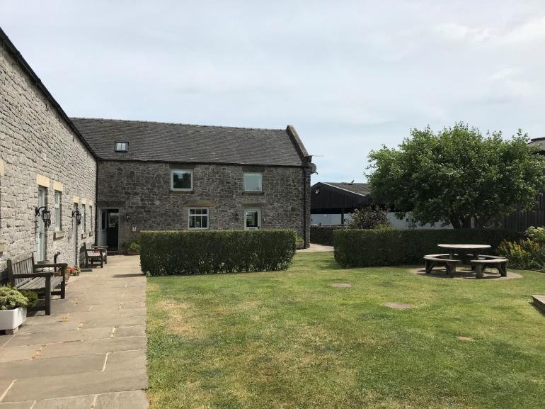 Rural stone barn conversion