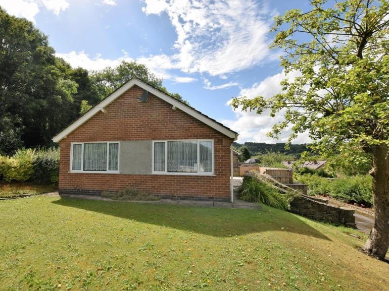 Detached bungalow with lots of garden to explore