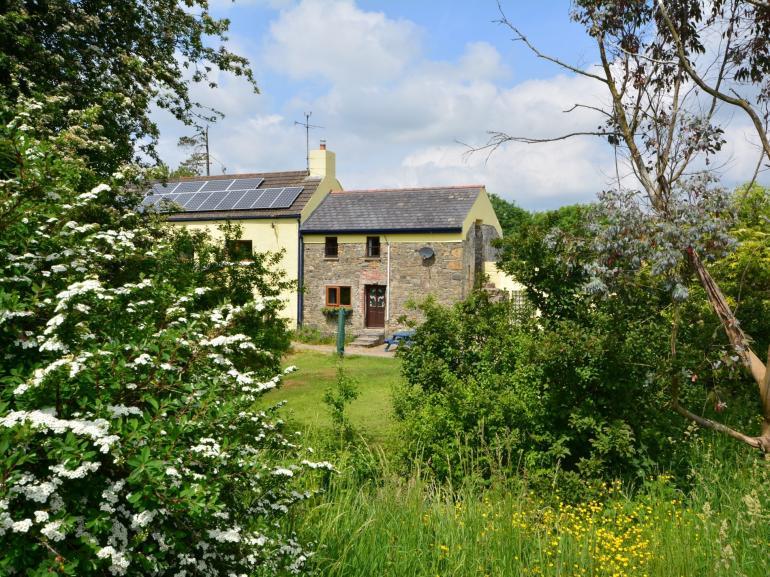 View towards this quaint little cottage