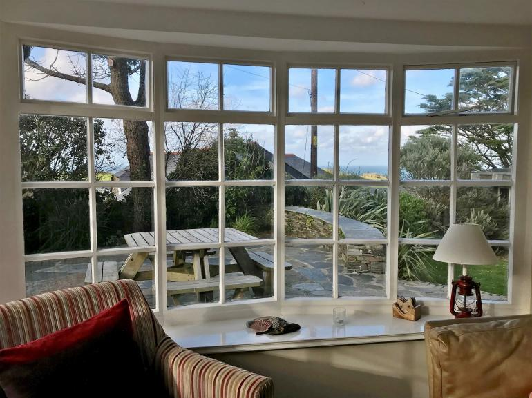 Relax and enjoy the stunning views from the conservatory
