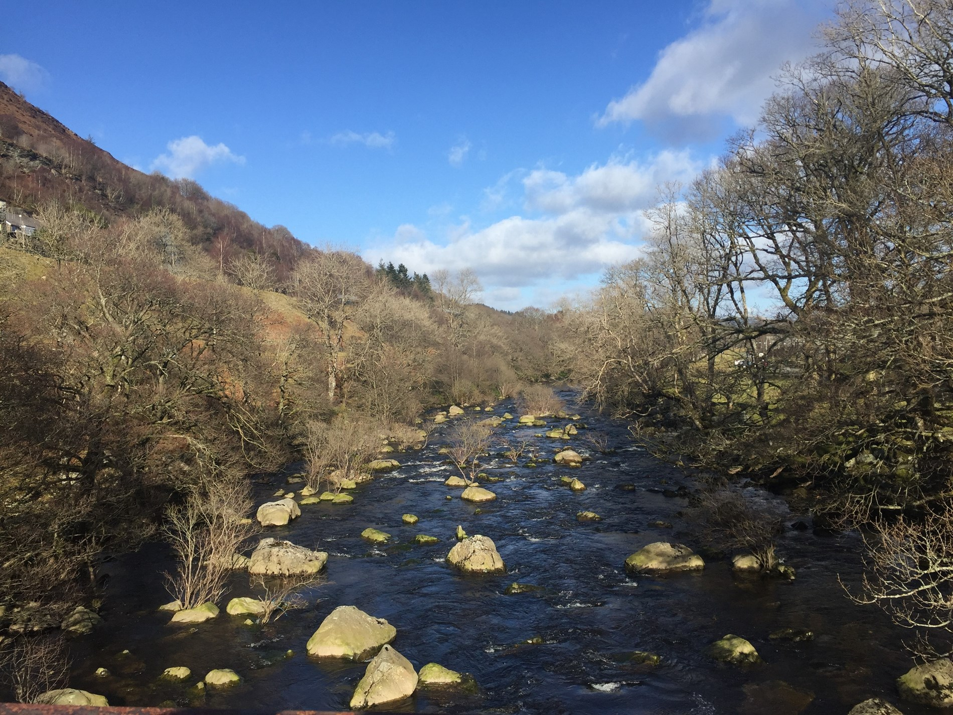Elan Valley within easy reach of the property