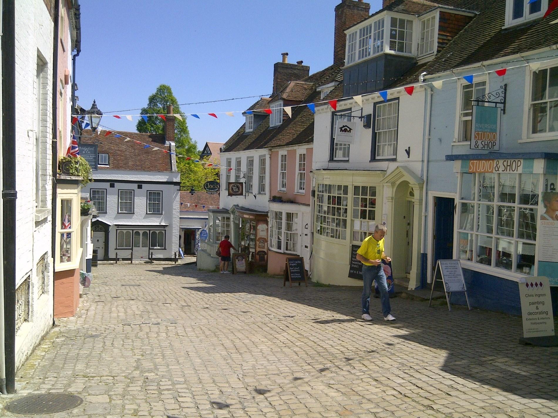 Lymington Cobbles well worth a visit