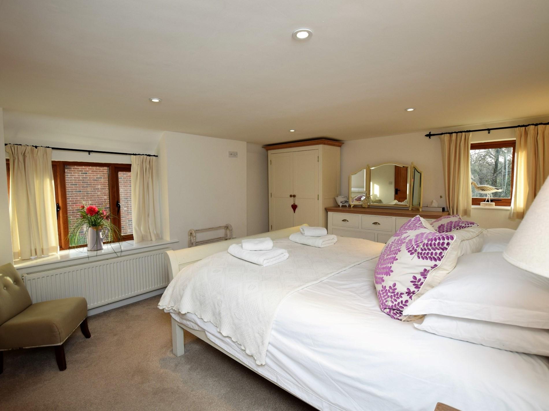 Main super-king size bedroom