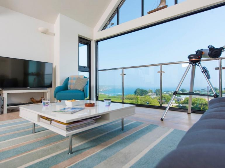 Relax and take in the spectacular sea views