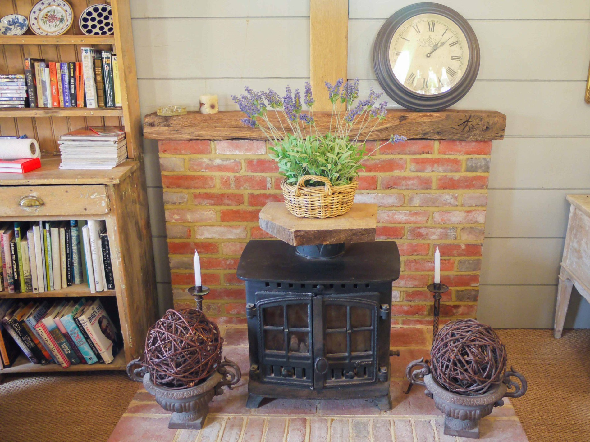 Ornamental woodburner