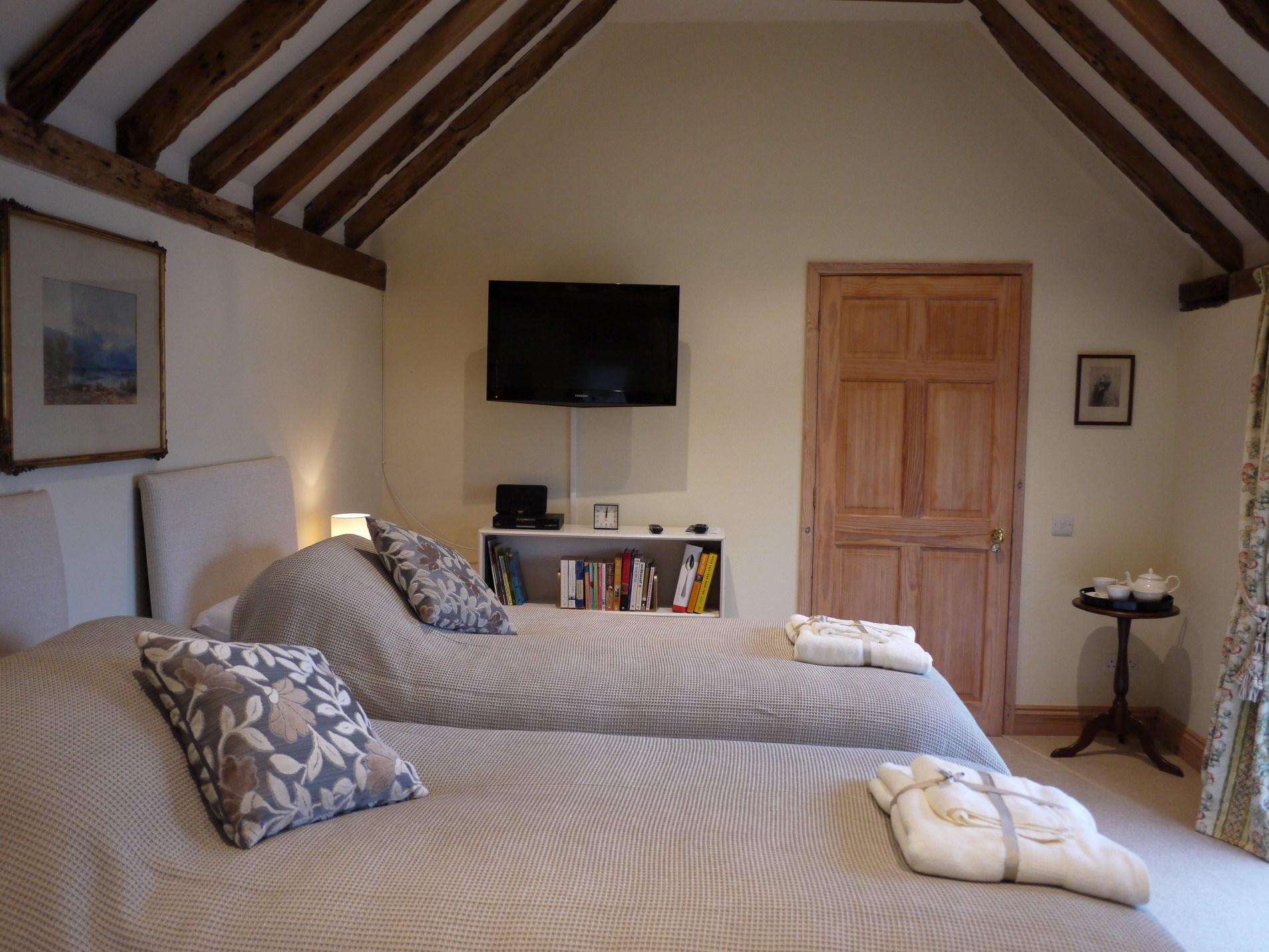 32 inch TV located in bedroom