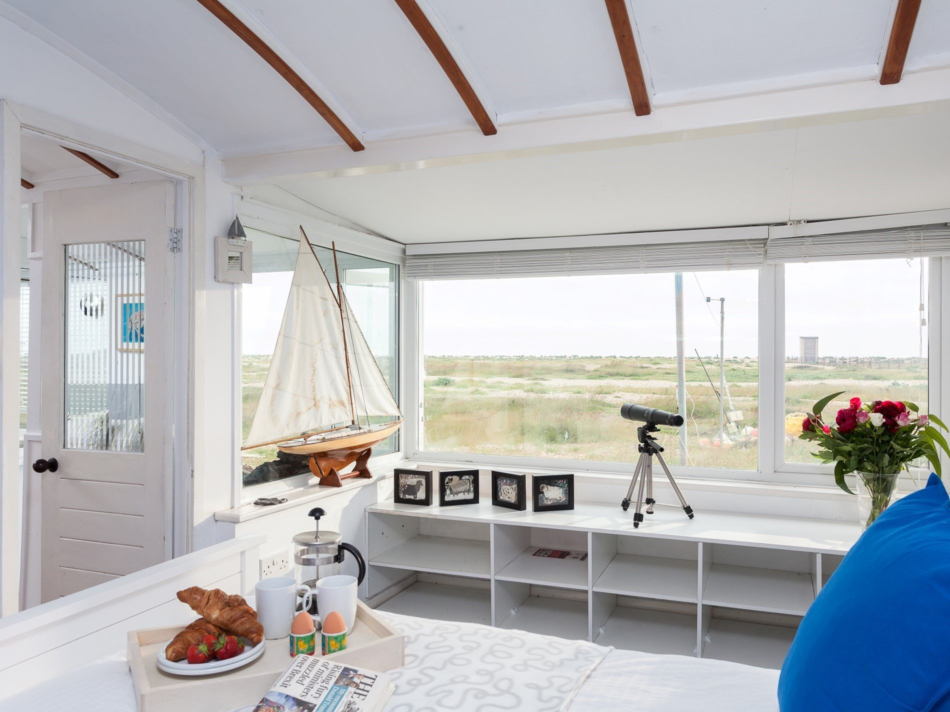 Enjoy the view from the double bedroom