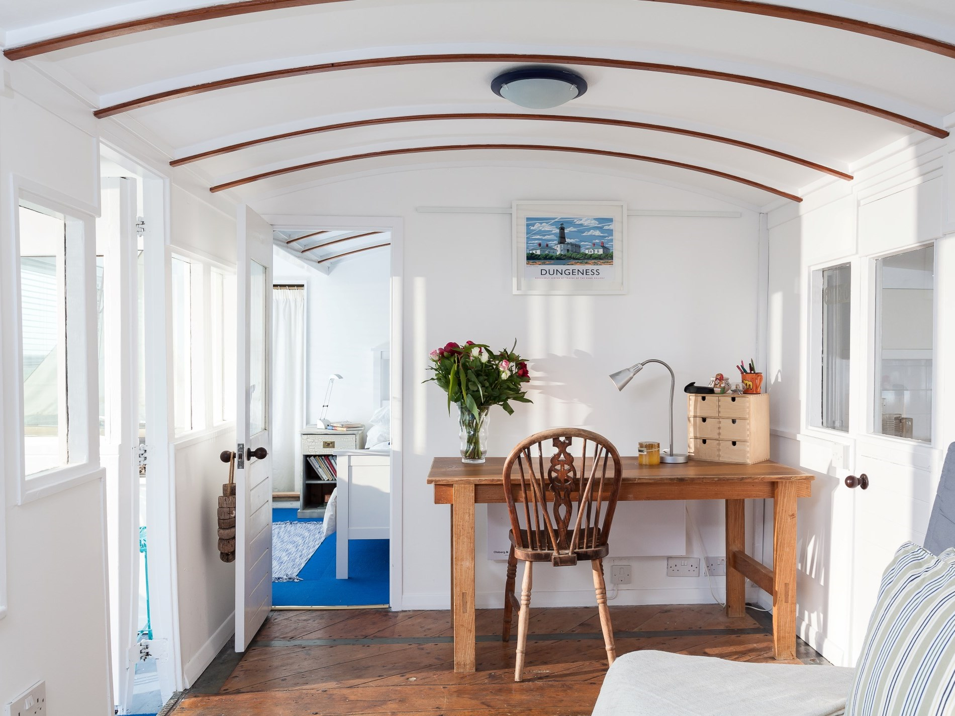Light and airy accomodation