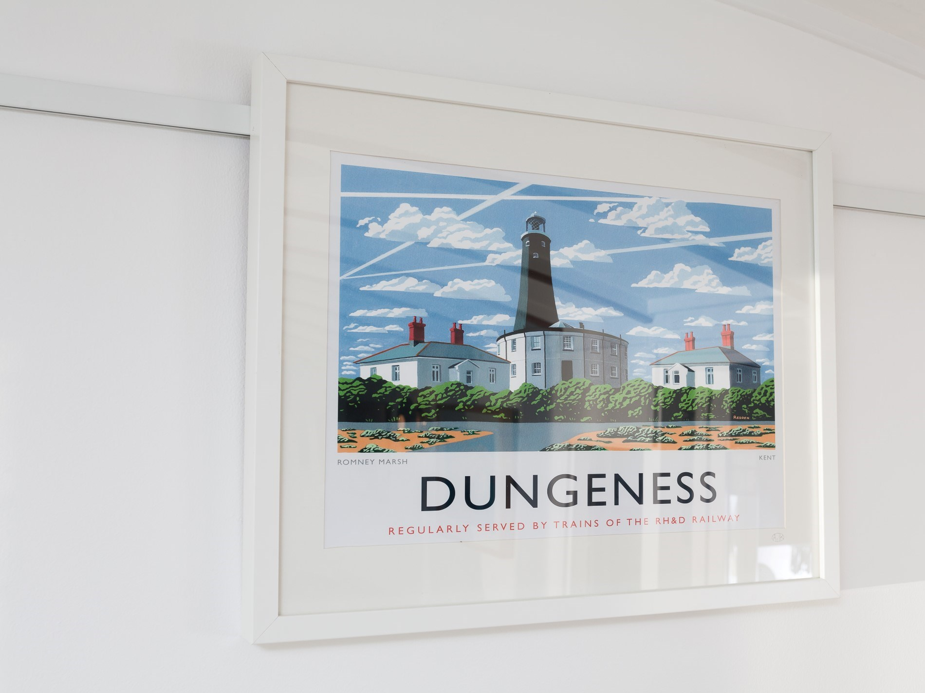 Direct access to Dungeness beach