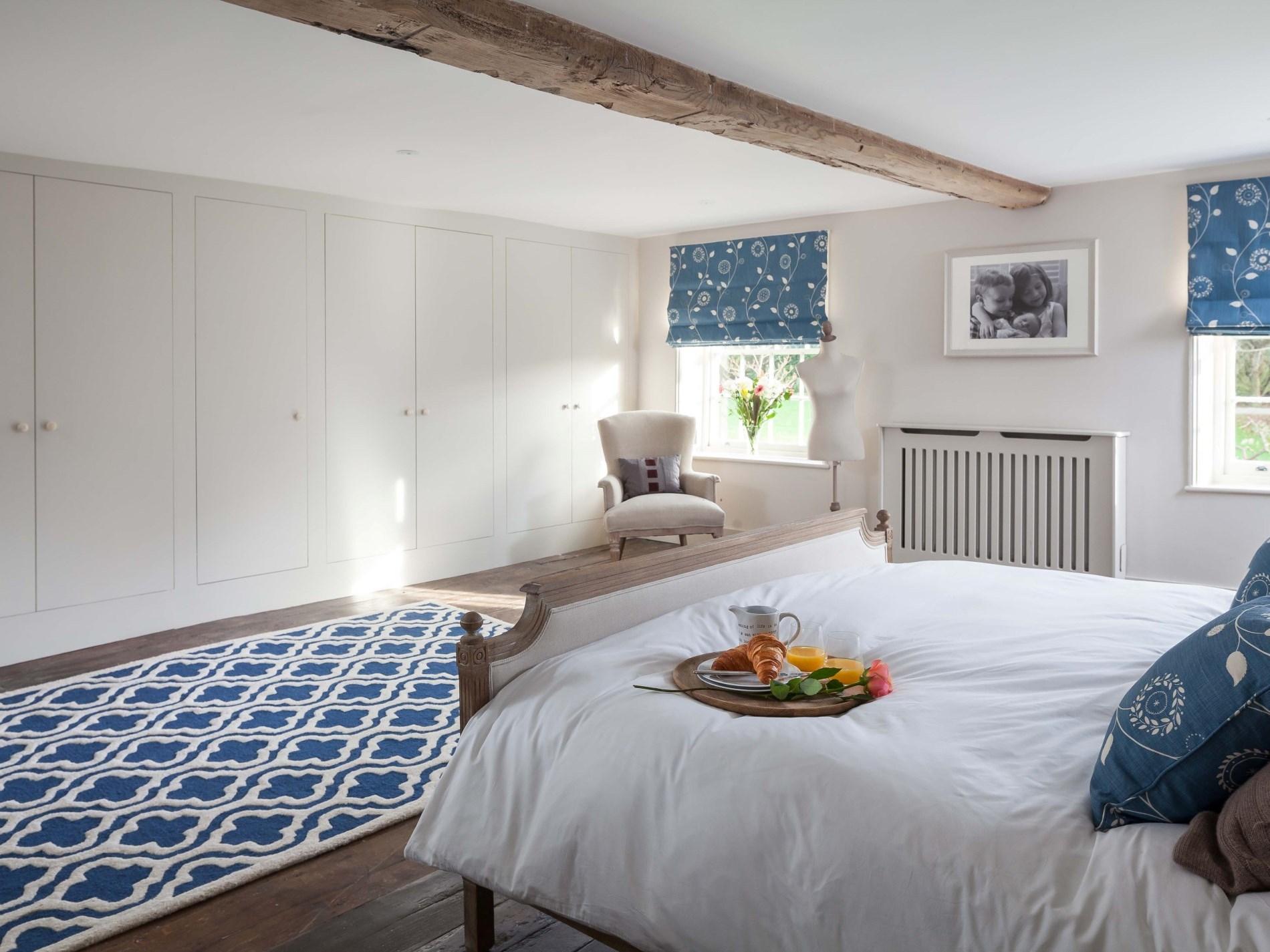 Elegantly styled bedrooms
