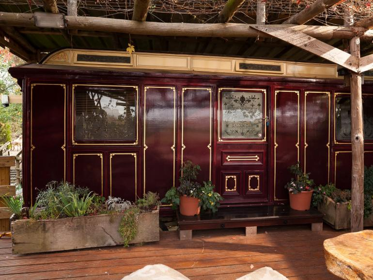 A former showmans carriage, lovingly restored