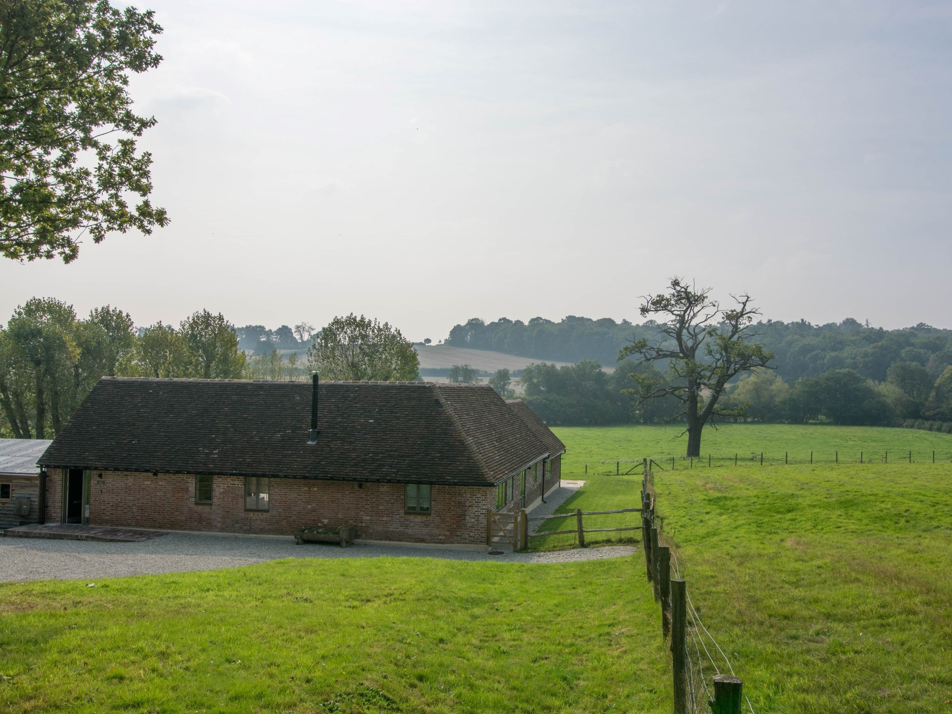 Nestled in the Sussex countryside