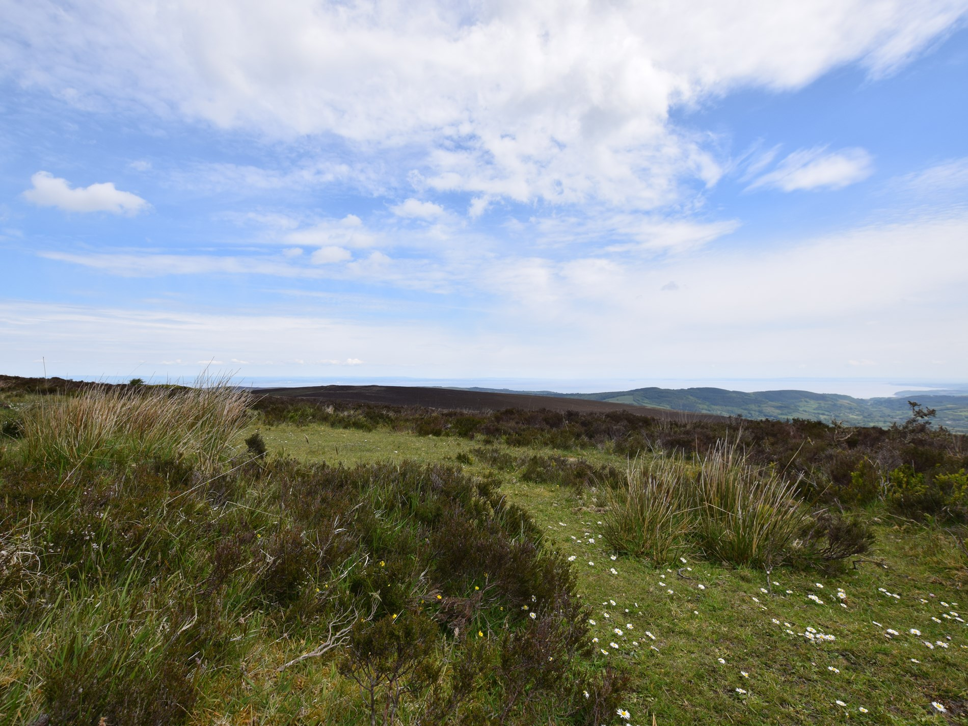 On the edge of the spectacular Exmoor National Park