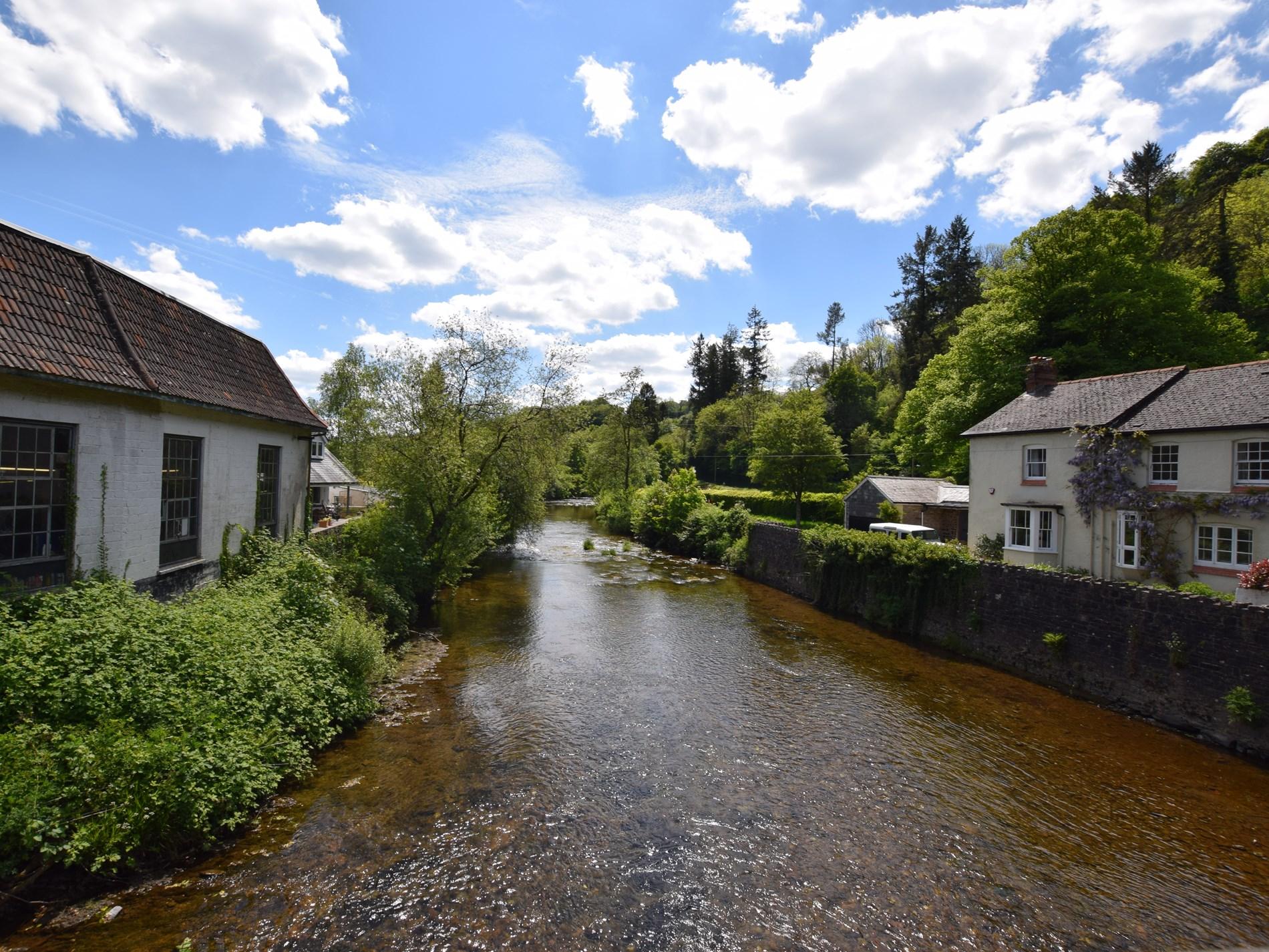 The pretty village of Dulverton