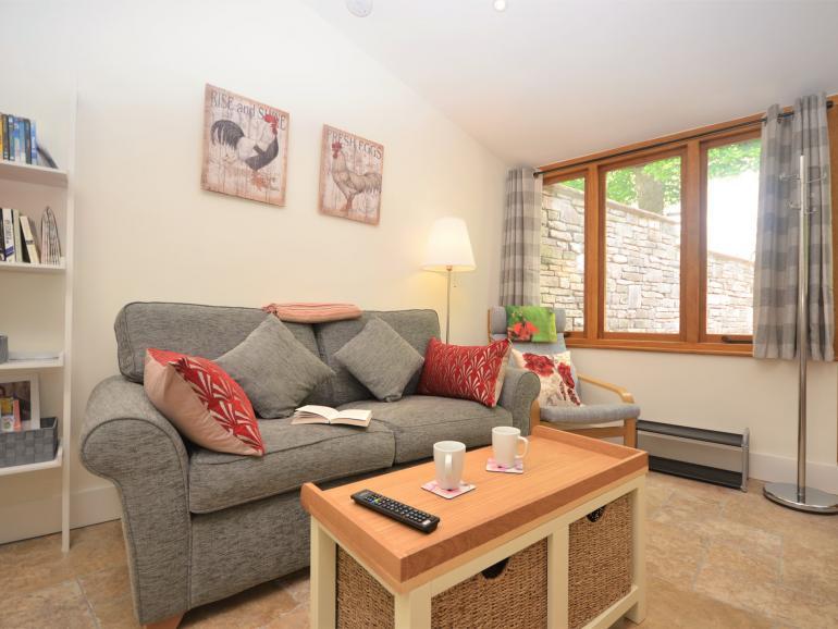 Stylish lounge space