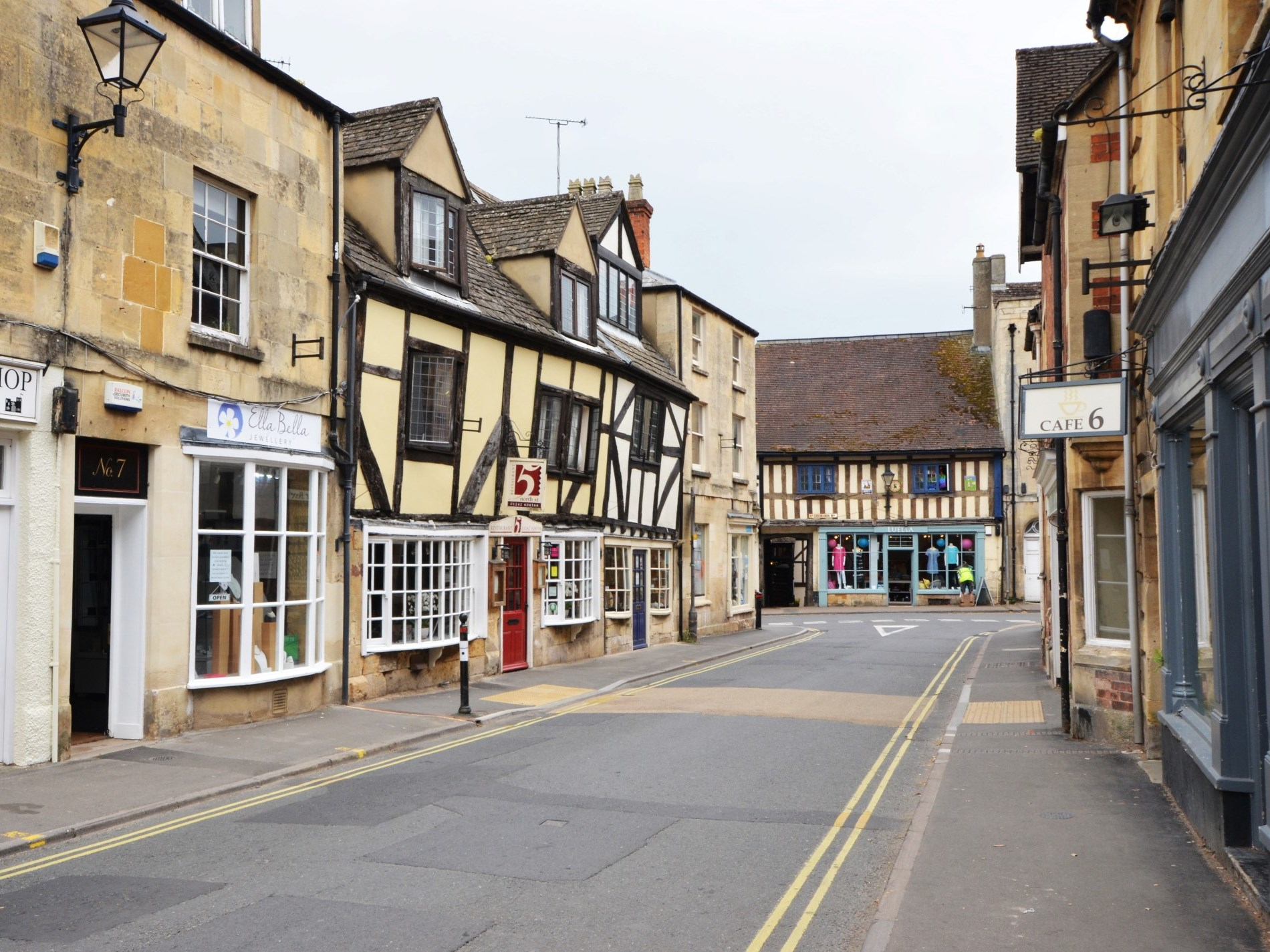 Local shops and high street