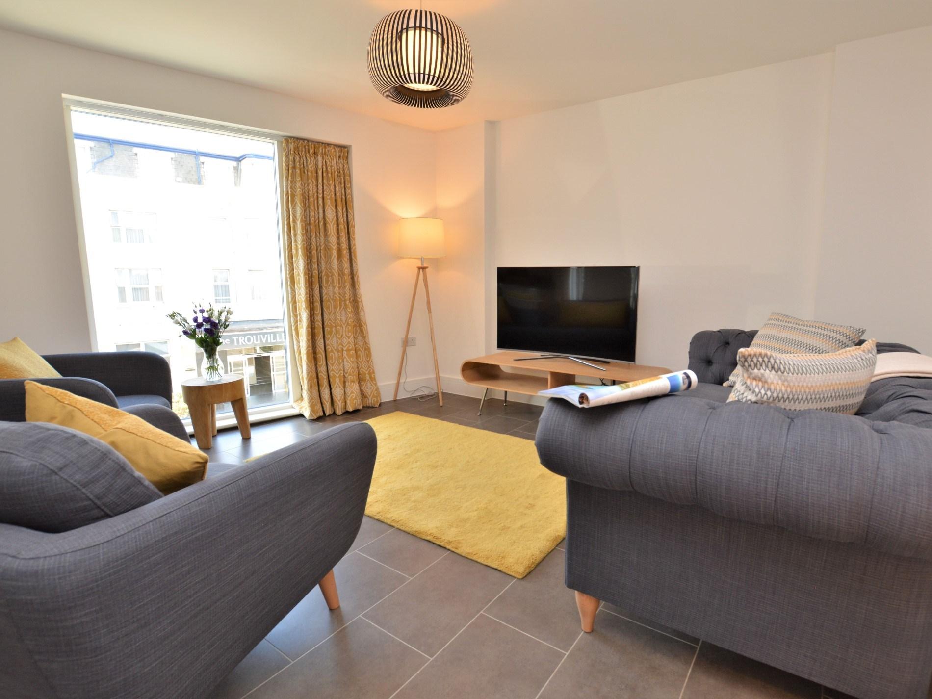 Thoughtfully designed lounge area