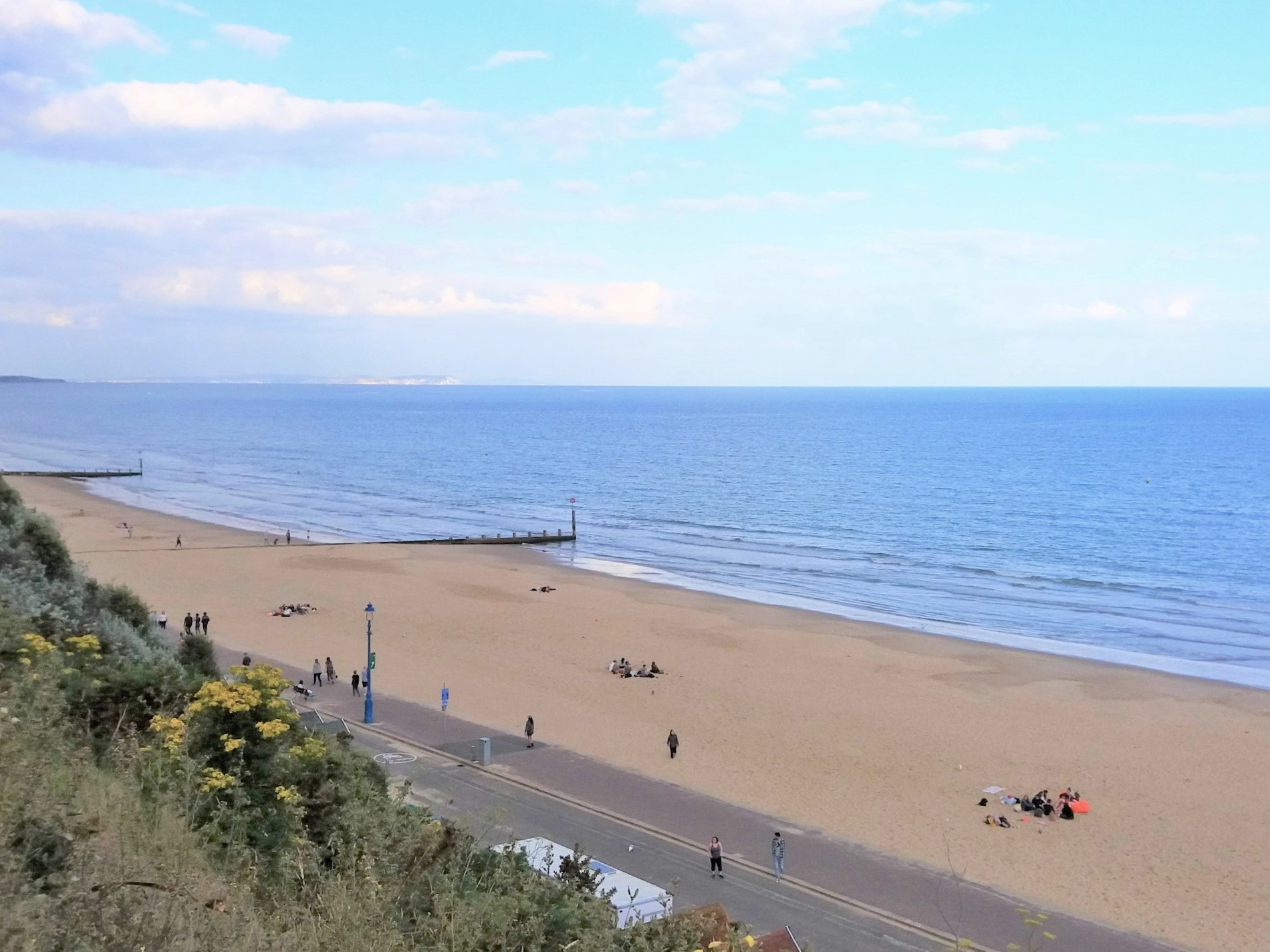 Beautiful Bournemouth beach