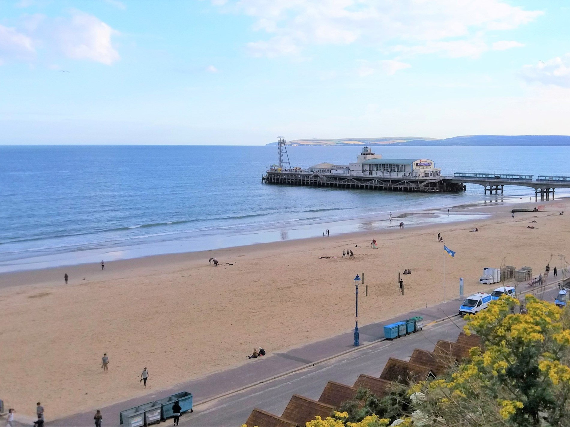 Bournemouth Pier which is within walking distance