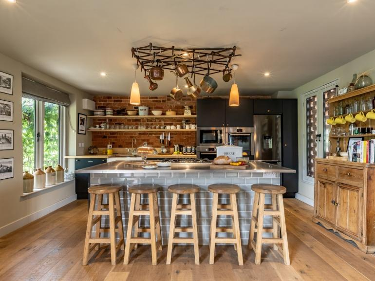 Fabulous kitchen for rustling up a feast...or handing over to the caterers!