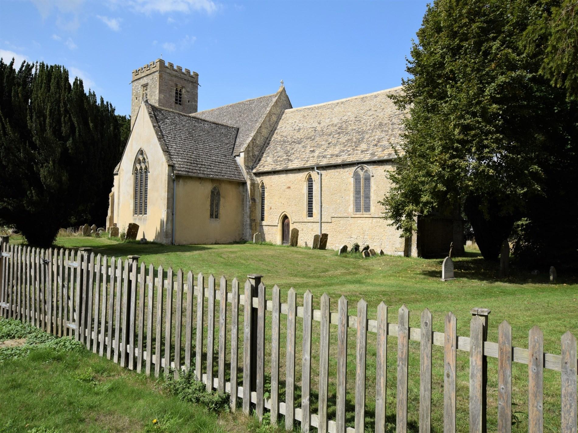 Picturesque village church