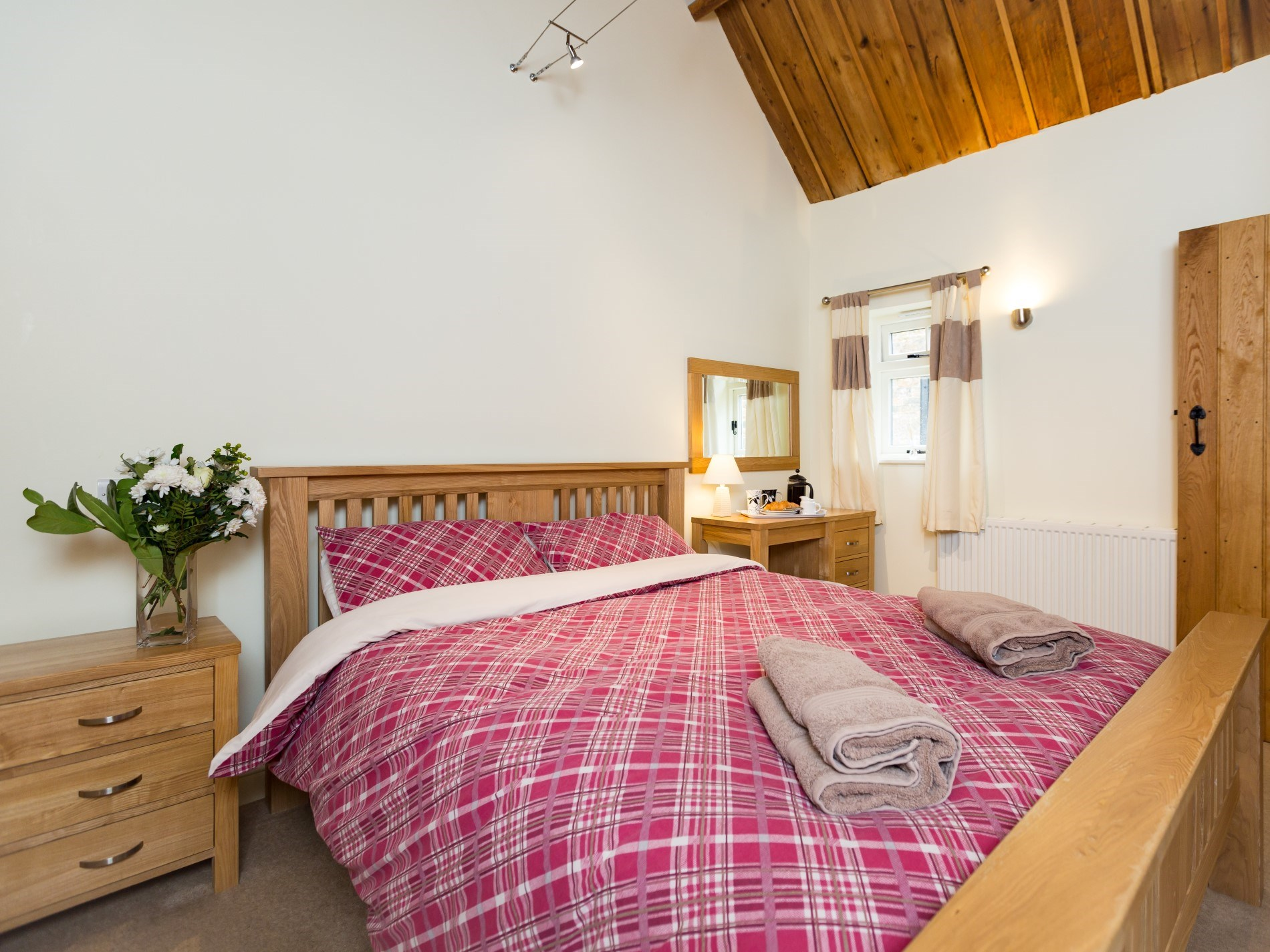 One of the lovely double bedrooms