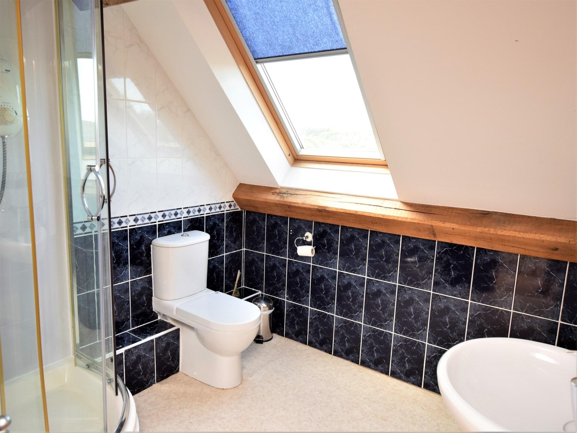 Shower room on the top floor