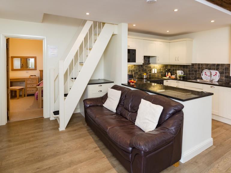 Lovely open-plan living area