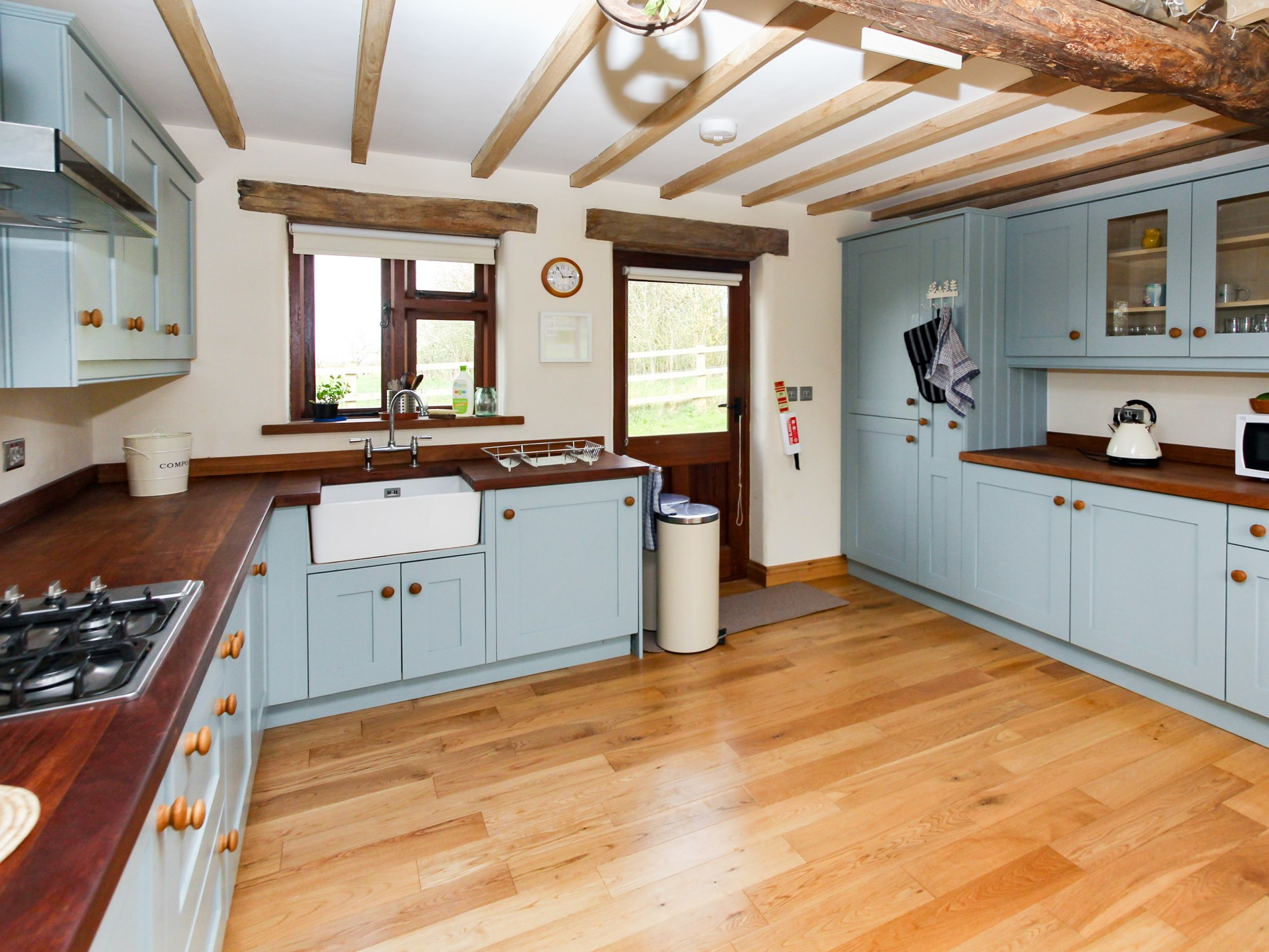 Spacious kitchen for keen cooks