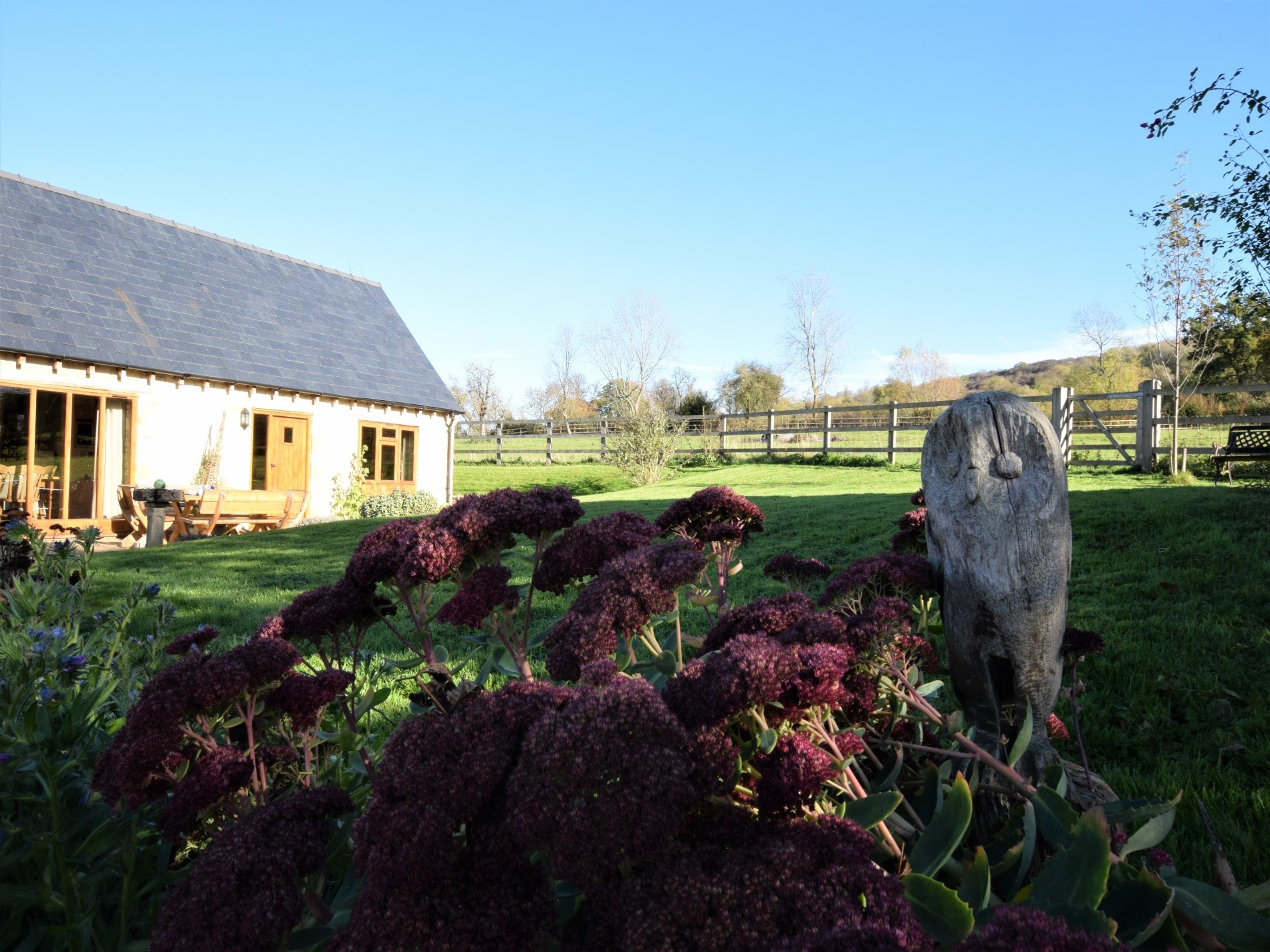 Explore the garden and lovely walks
