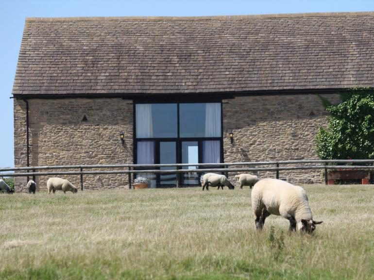 Pretty barn conversion