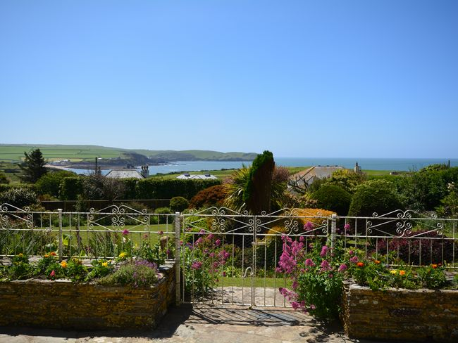 Far reaching sea views from the patio area