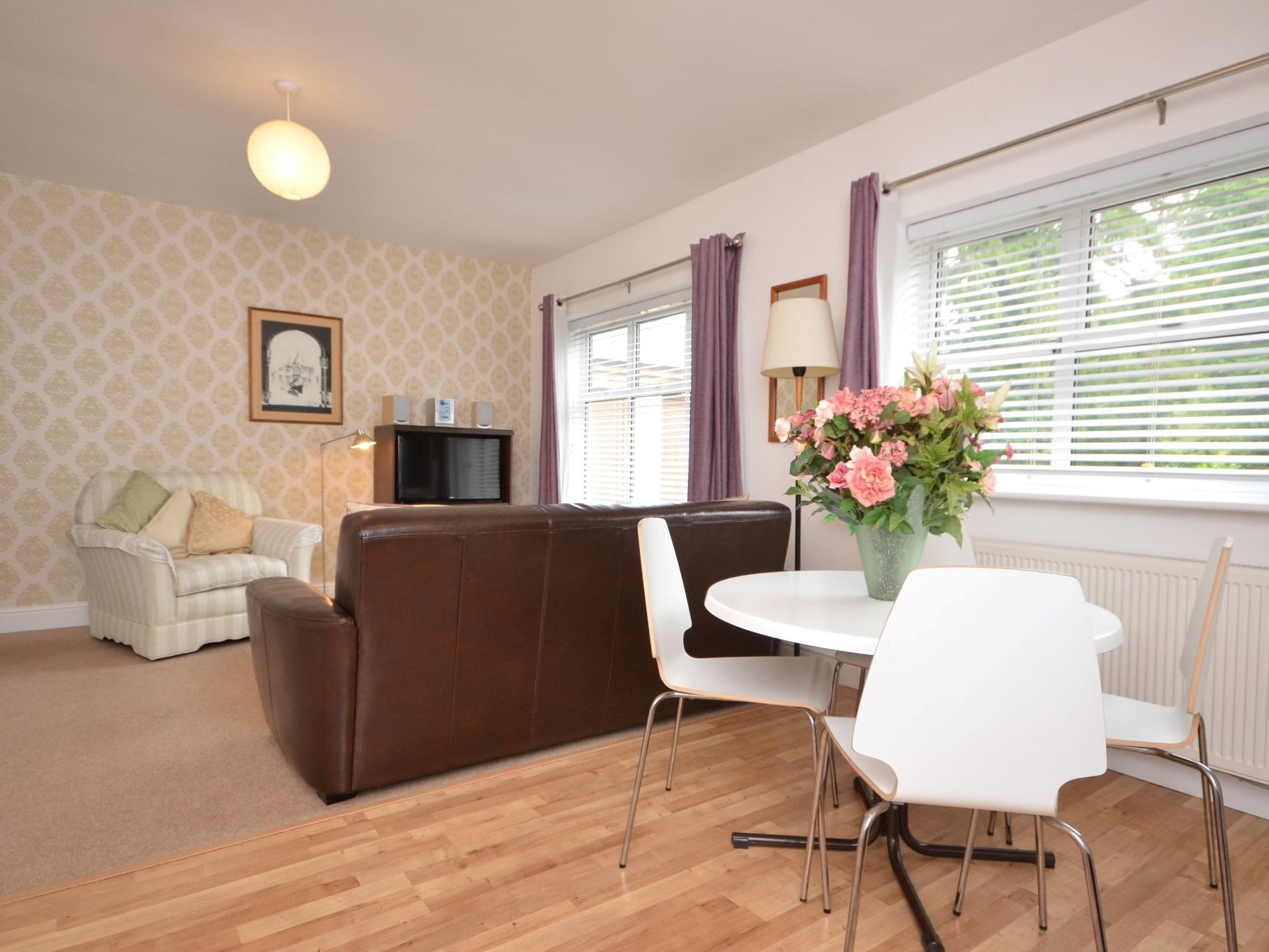 Lovely open plan living area