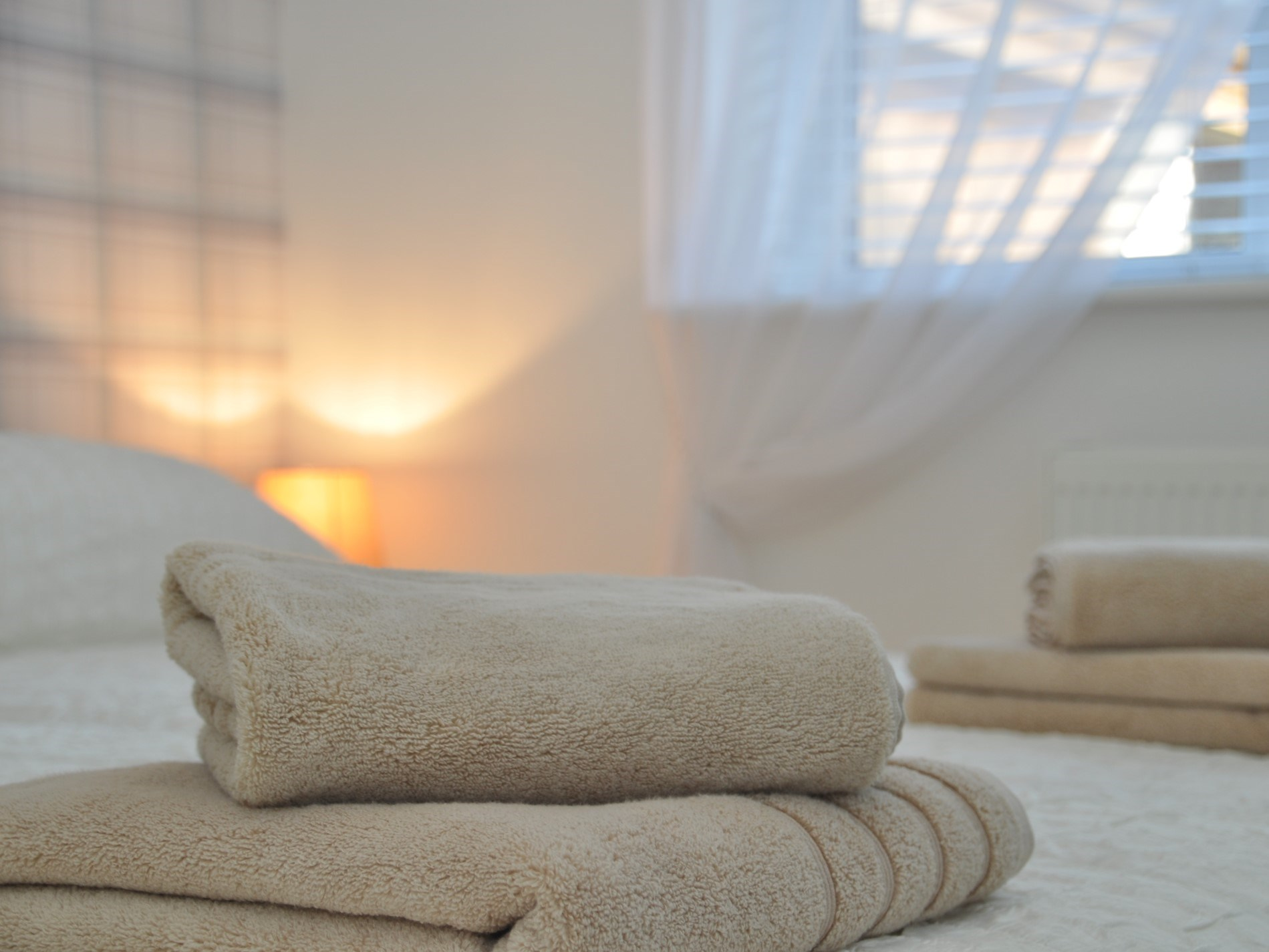 Further enhanced with luxurious soft towels