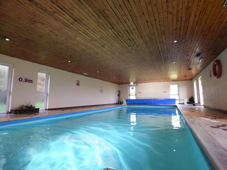 Pool area perfect for adults and children alike