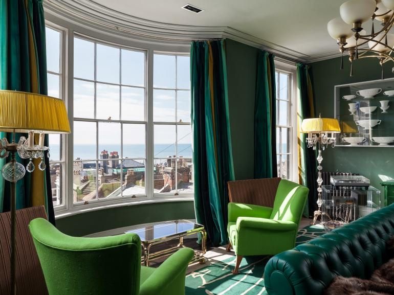 Enjoy the magnificiant views from the master suite