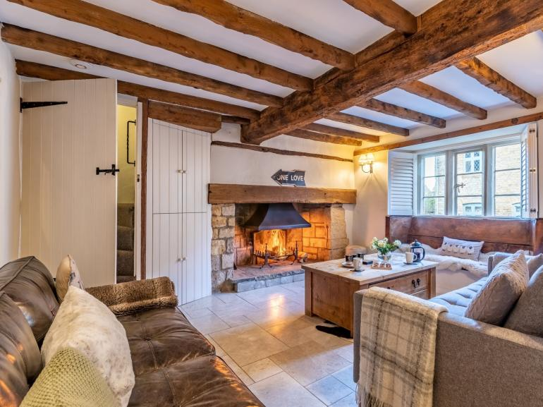 Enjoy an evening in front of the wood burner