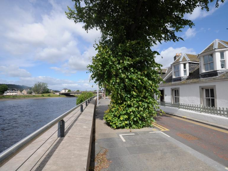 Perfectly situated on the River Ness