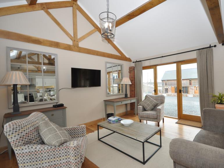 Stylish single storey barn conversion