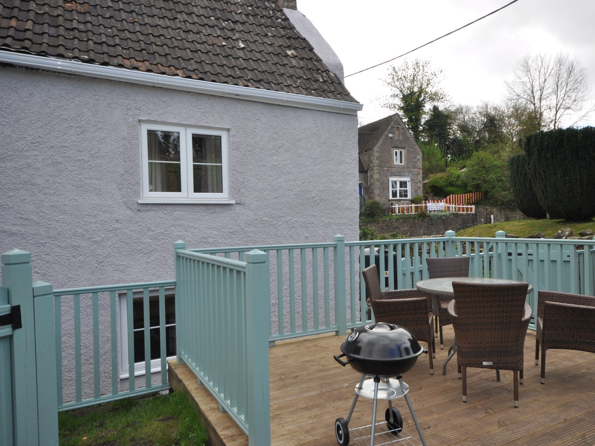 Excellent decking area to enjoy a summers evening