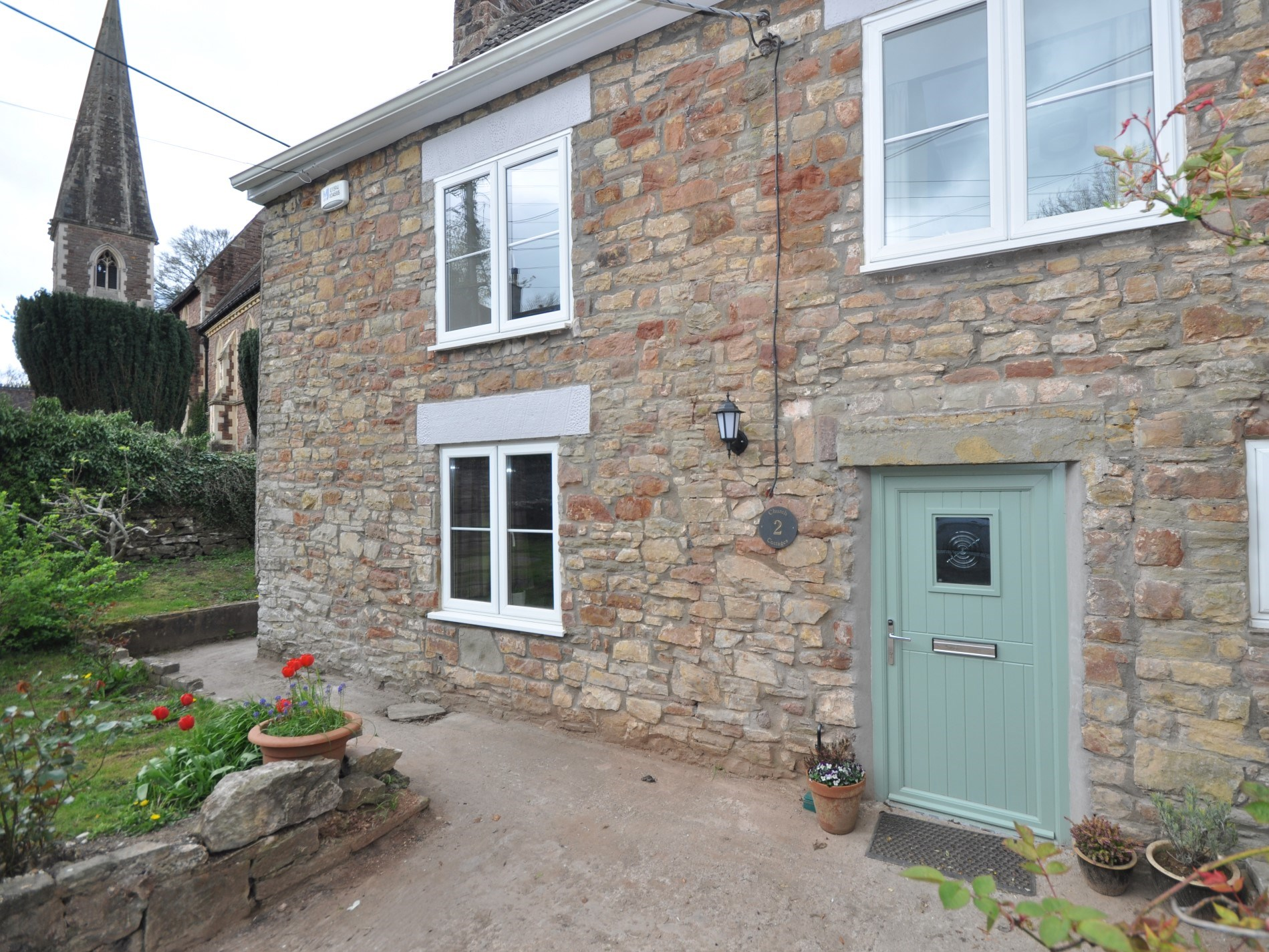 Beautiful stone cottage in the heart of the village