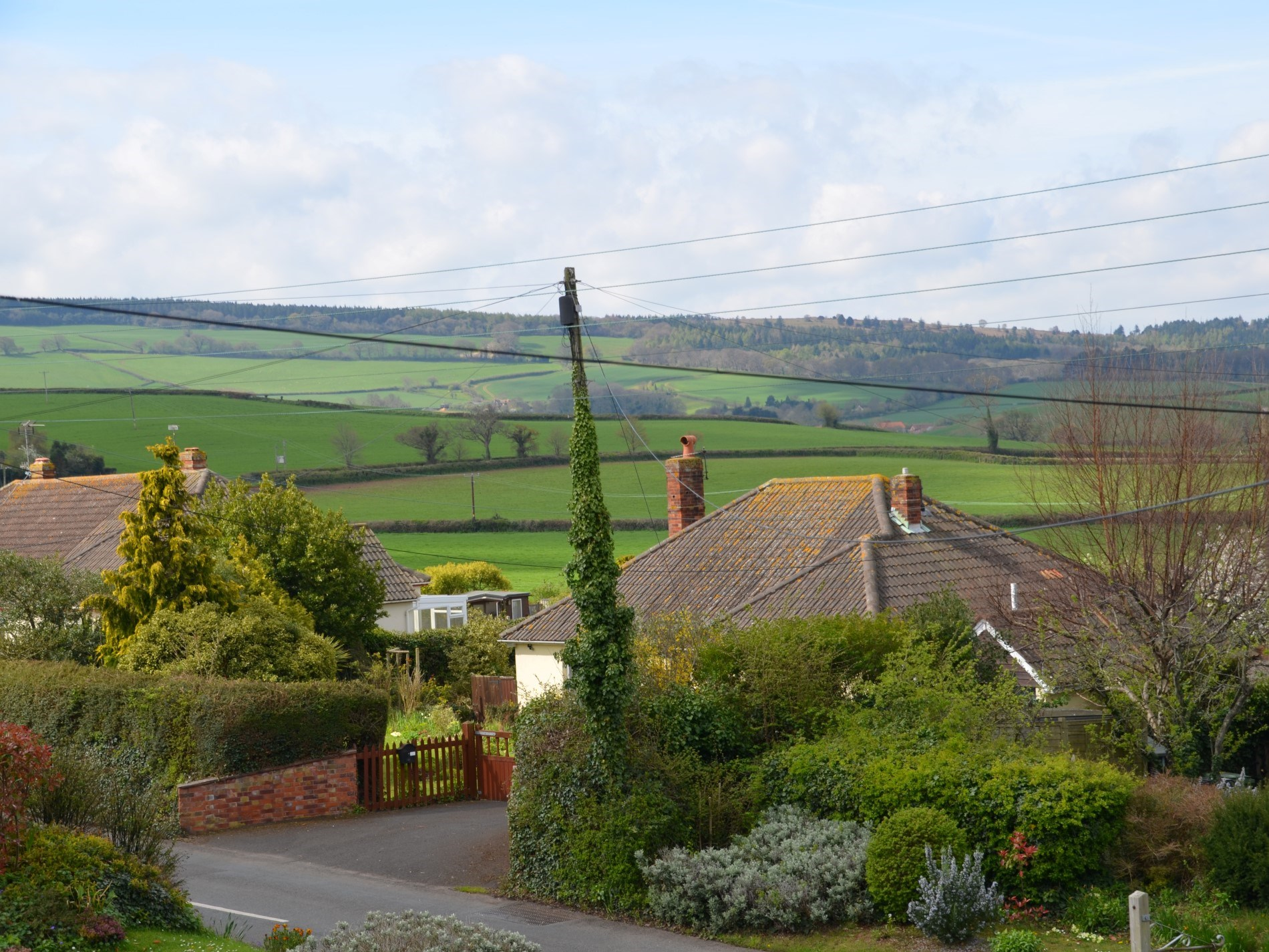 Also enjoy views to Exmoor from the lounge and dining room