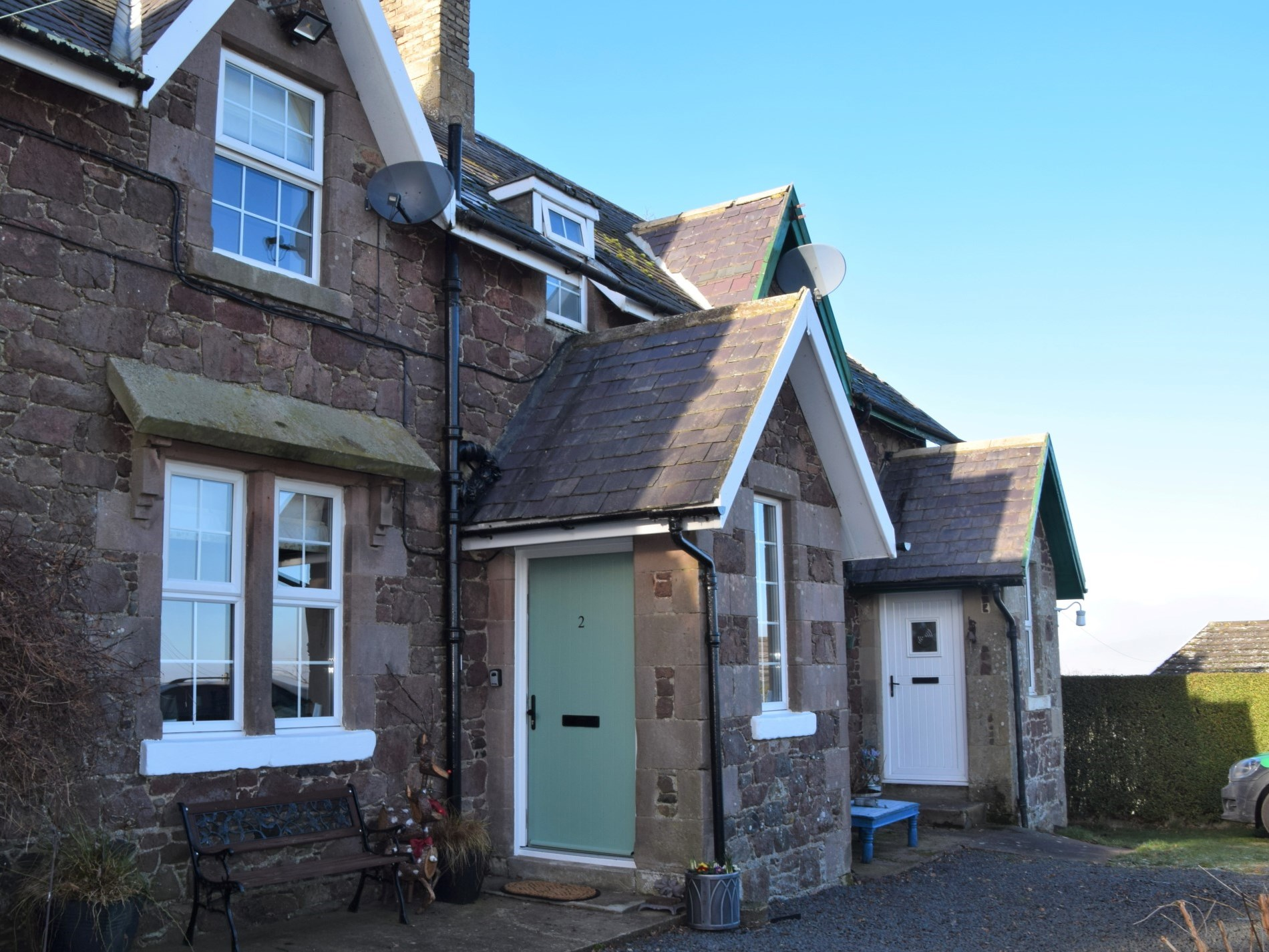 2 Bedroom Cottage in Mindrum, Northumbria